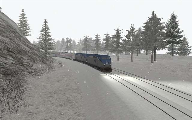 Trains & Drivers - California Zephyr Crossing, Donner Pass