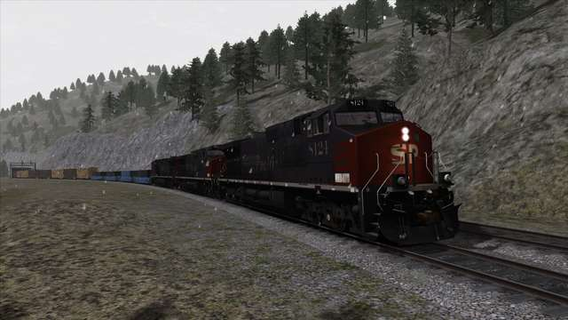 TaD - Donner Pass: Southern Pacific - Over the Mountains