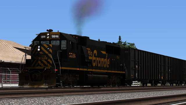 Trains & Drivers DTM EMD SD50 Denver & Rio Grande Western