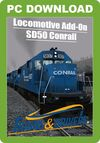 Trains & Drivers DTM SD50 Conrail