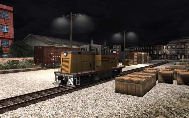 Trains & Drivers Green Falls Shunting Route