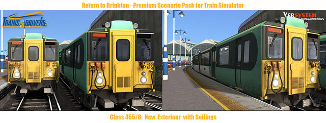 Trains & Drivers - London to Brighton Scenario Pack