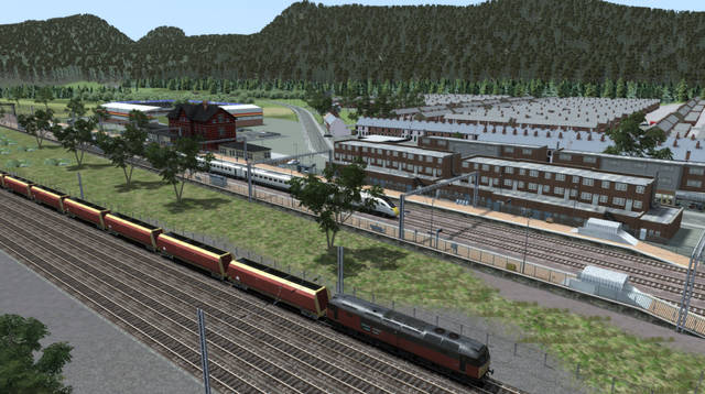 Just Trains - Valley Corridor Route