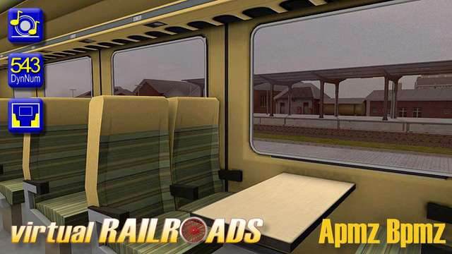 Virtual Railroads BR120 and TEE Carriages