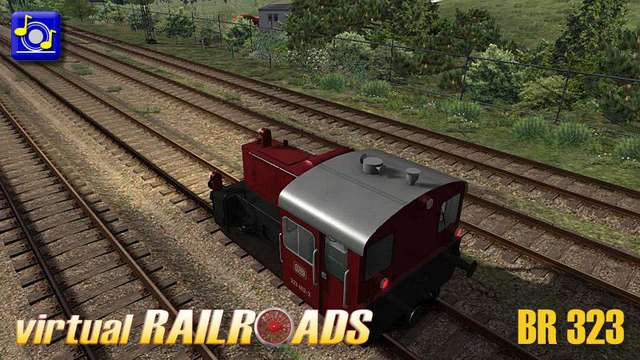 Virtual Railroads BR323 Shunter and Lbms wagons