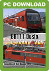 Virtual Railroads DB BR111 Dosto Expert-Line