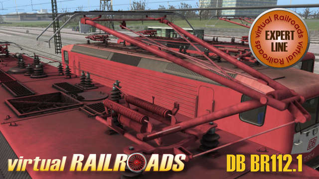 Virtual Railroads DB BR112.1 Expert Line Orient Red