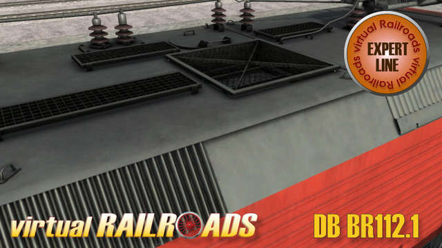 Virtual Railroads DB BR112.1 Expert Line Traffic Red