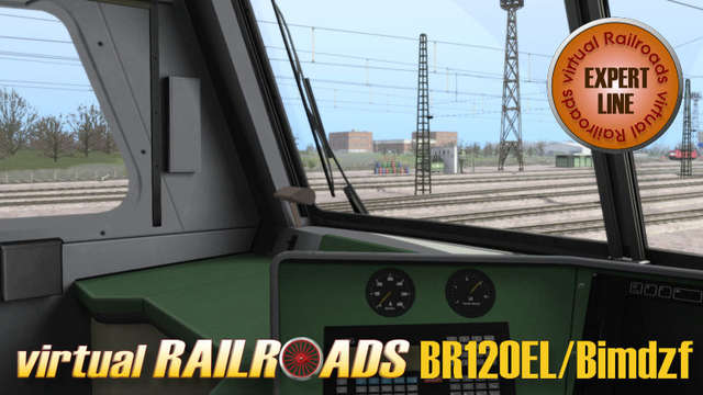 Virtual Railroads DB BR120 Bimdzf IR Expert Line