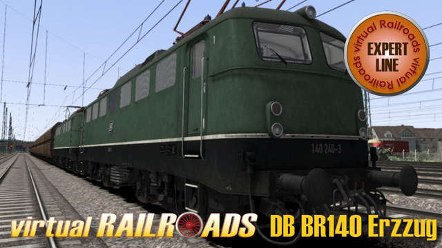 Virtual Railroads DB BR140 Expert Line Ore Train