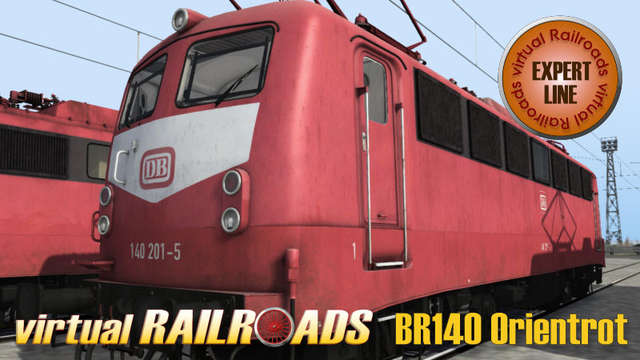 Virtual Railroads DB BR140 Expert Line Orient Red