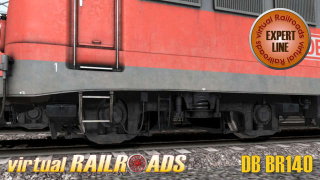 Virtual Railroads DB BR140 Expert Line Traffic Red