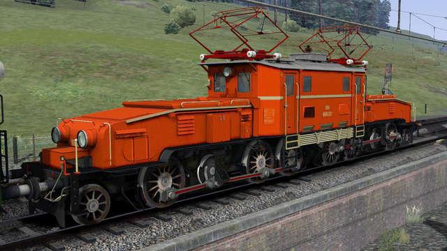 Just Trains Virtual Railroads Oebb 1189 Crocodile